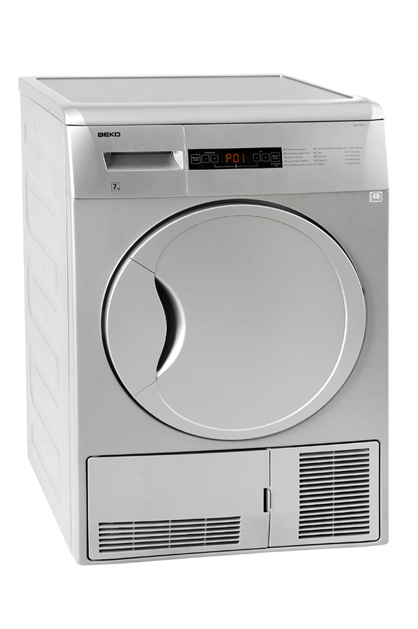 S che linge beko dcu 7430 s 3655040 darty for Temps sechage seche linge