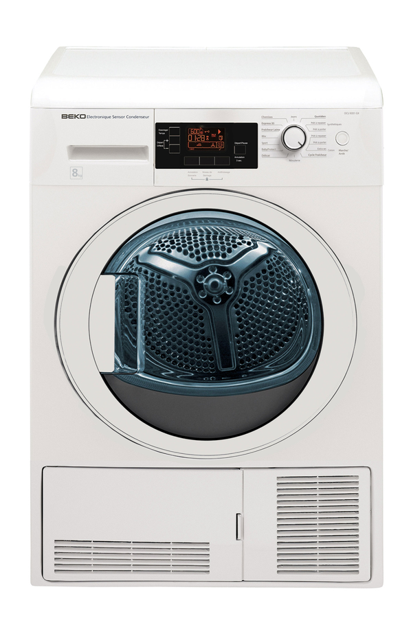 avis clients pour le produit sèche linge beko dpu7304gx blanc
