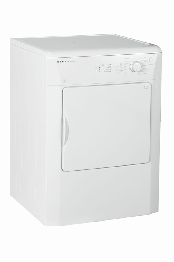 S che linge beko dv8220x 4036174 darty for Temps sechage seche linge