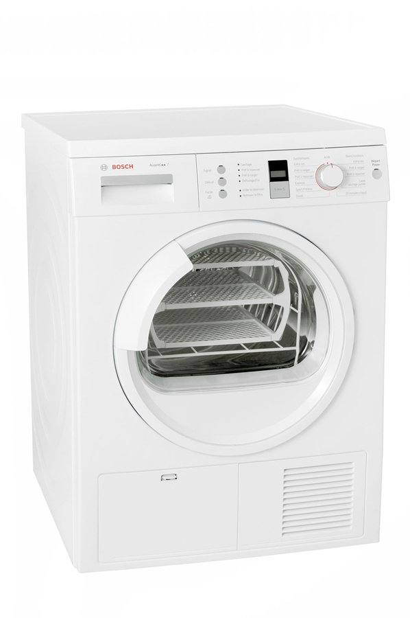 S che linge bosch wte86307ff 3499227 darty for Temps sechage seche linge