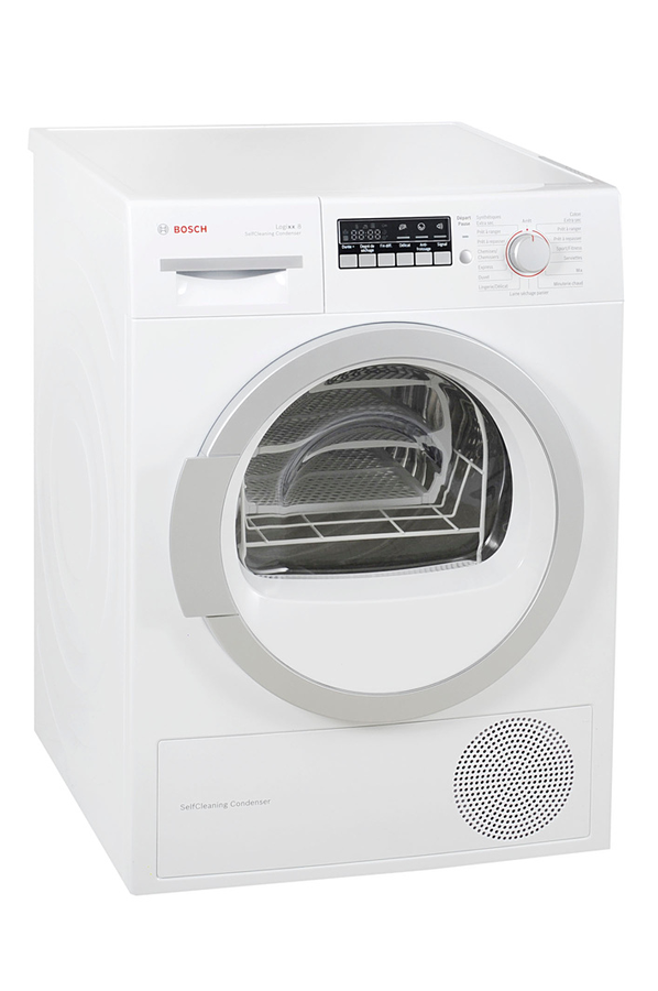 S che linge bosch wtw86430ff 3782387 darty for Temps sechage seche linge