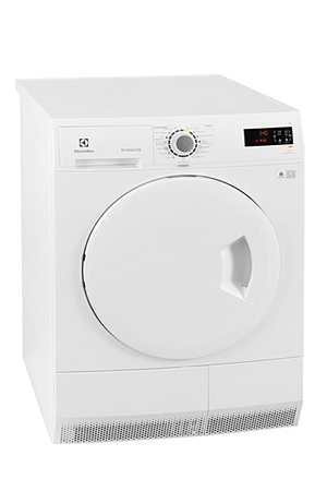 s che linge electrolux edc2086pdw blanc darty. Black Bedroom Furniture Sets. Home Design Ideas