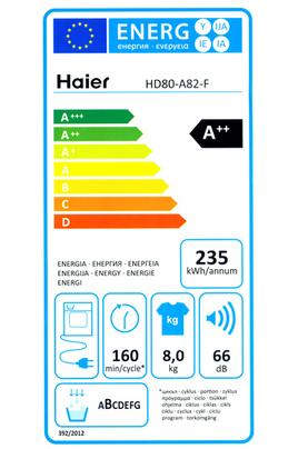 Haier HD80-A82-F