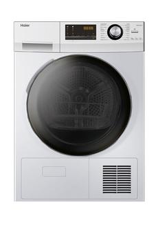 Capacité 9 kg - Condensation - Pompe à chaleur A++ Départ différé 24 heures / Indicateur de temps restant Système ABT (traitement antibactérienne sur joint hublot et bac à eau) Eclairage tambour - Programme couette