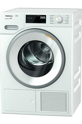 Capacité 8 kg - Condensation Séchage par sonde - Départ différé de 0 h 30 à 24 heures Tambour Aérogliss breveté - Technologie Perfect Dry Pompe à chaleur A+++ - FragranceDos avec diffuseur de parfum