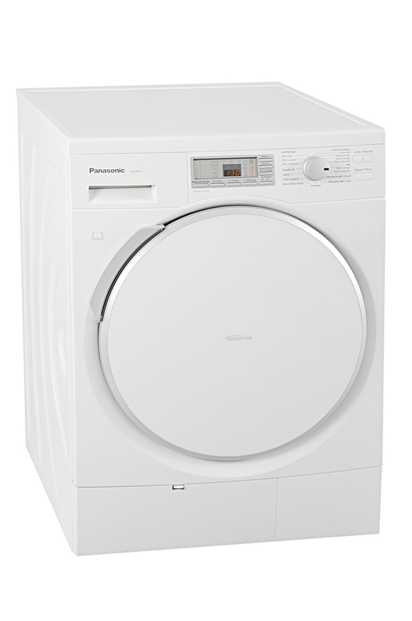 S che linge panasonic nh p80g1 3696790 darty for Temps sechage seche linge