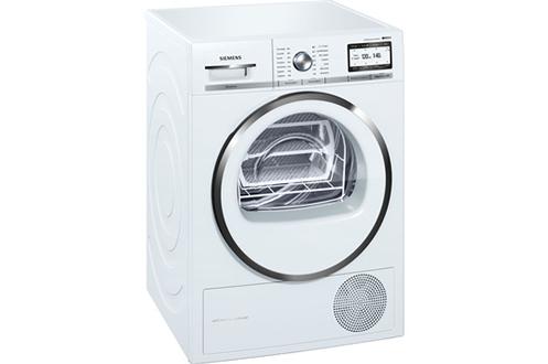 Capacité 9 kg - Pompe à chaleur A++ Home connect : contrôle à distance Fin différée Technologie AutoDry - Programme Express