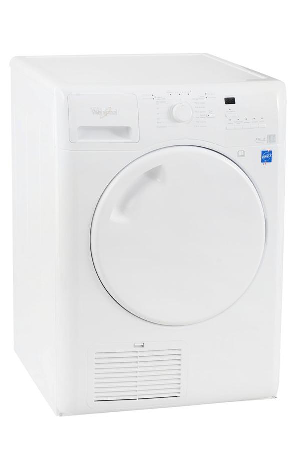 S che linge whirlpool aza7210 blanc 3799972 darty - Meilleur seche linge pompe a chaleur ...