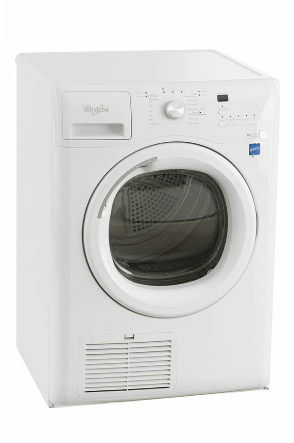 S che linge whirlpool aza8221 blanc 4033396 darty - Seche linge condensation darty ...