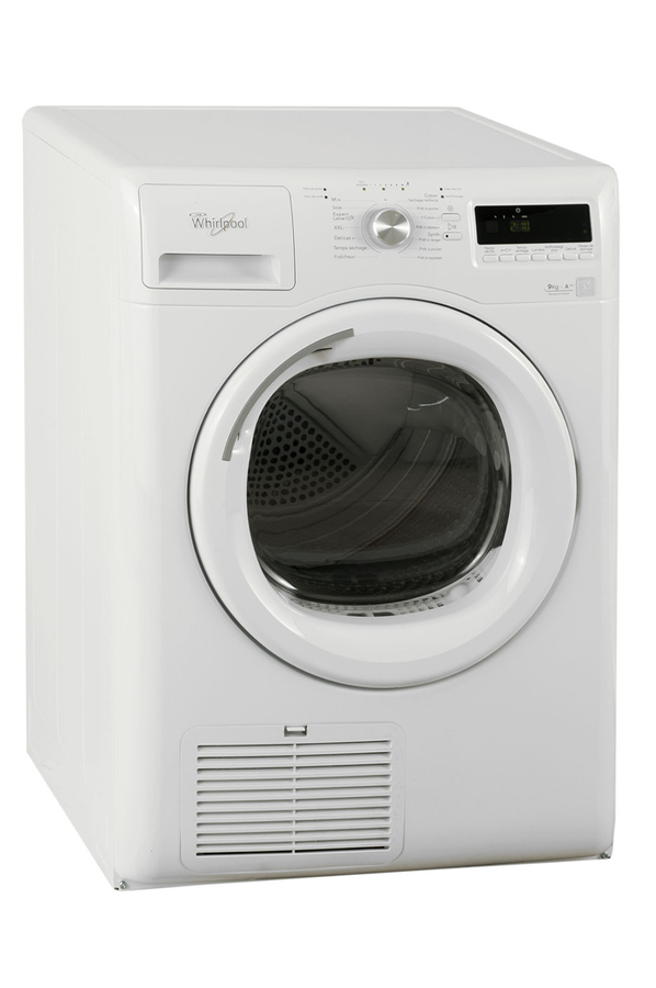 S che linge whirlpool aza9322 blanc 4033418 darty for Temps sechage seche linge