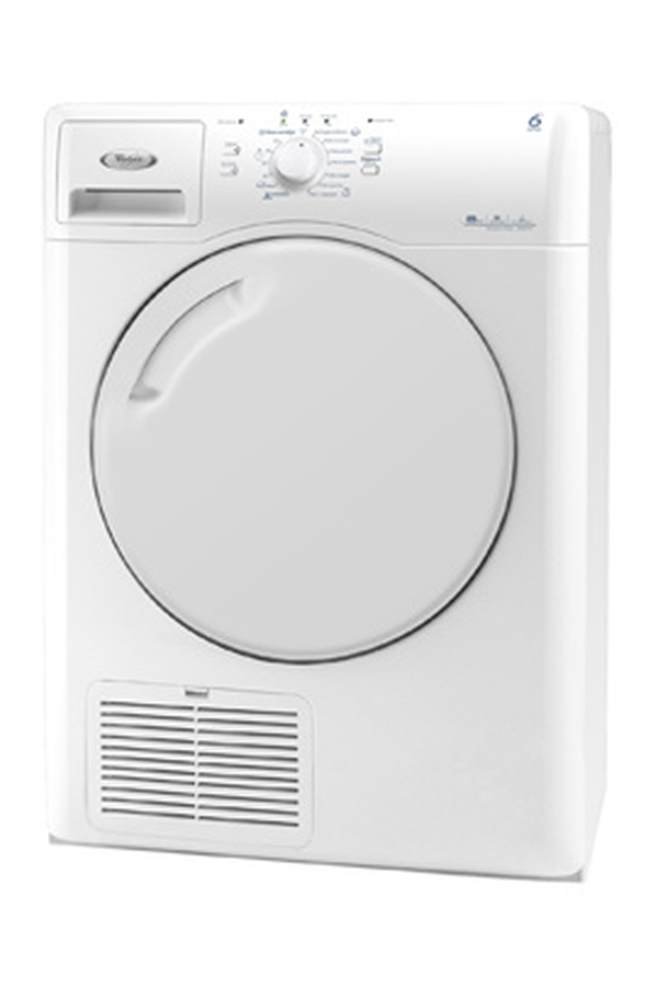 S che linge whirlpool azb8570 blanc 3499197 darty - Seche linge condensation darty ...