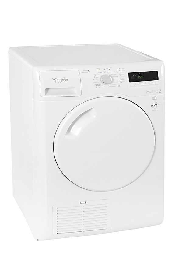 S che linge whirlpool azb9683 3629570 darty - Seche linge condensation darty ...