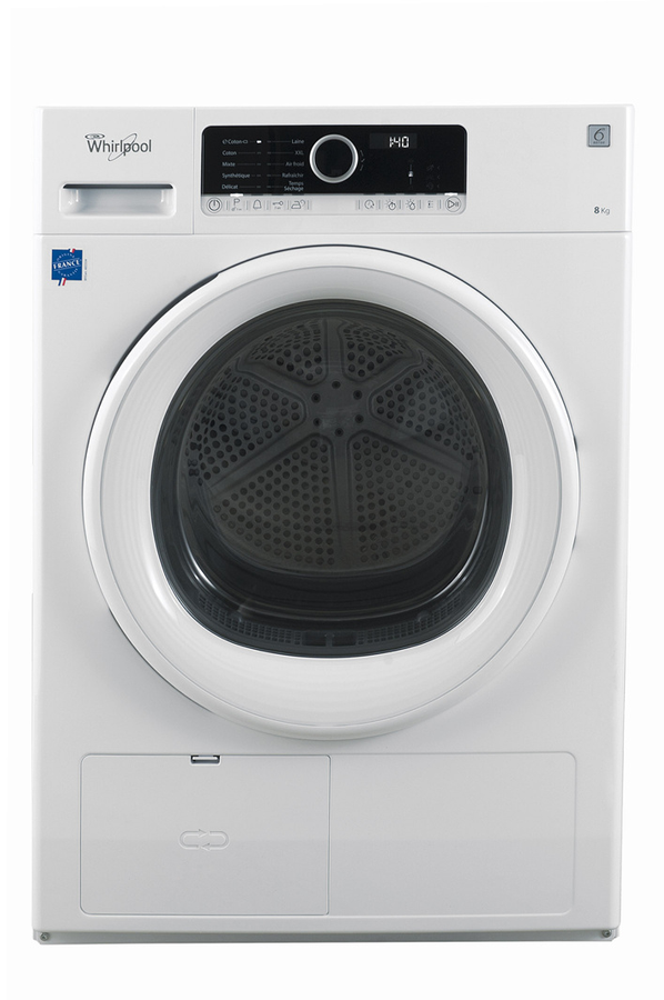 S che linge whirlpool hscx80313 supreme care 4126955 darty - Seche linge condensation darty ...