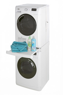 Avis clients pour le produit kit de superposition wpro kit - Superposition lave linge seche linge ...