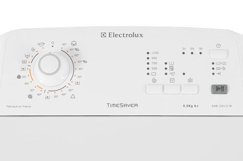 Lave linge ouverture dessus electrolux ewb125112w blanc - Rangement dessus lave linge ...