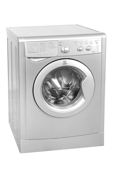 Lave linge sechant IWDC 7145S SILVER Indesit