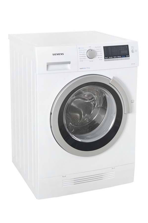 lave linge sechant siemens wd 14 h460 ff blanc 3296482 darty. Black Bedroom Furniture Sets. Home Design Ideas