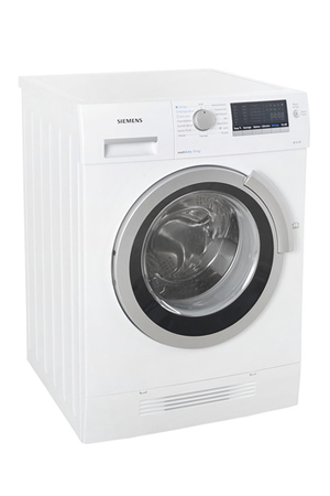 lave linge sechant siemens wd 14 h460 ff blanc darty. Black Bedroom Furniture Sets. Home Design Ideas