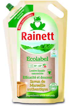 Lessive SAVON DE MARSEILLE Rainett