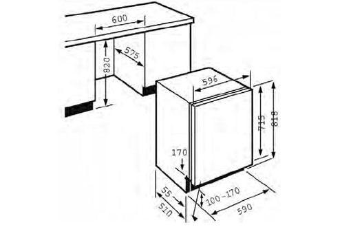 seche linge hauteur 70 cm accessoire cuisine inox. Black Bedroom Furniture Sets. Home Design Ideas
