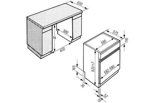 Sèche linge encastrable T 4859 CI CHD INOX Miele