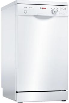 Largeur 45 cm (9 couverts) - 48 dB Consommation d'eau 8.5 L/cycle - Classe A+ Départ différé 3/6/9 heures Programme Silence - Option séchage extra
