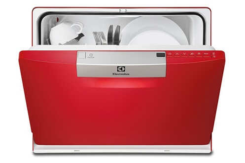 lave vaisselle electrolux esf2300oh rouge 3616606. Black Bedroom Furniture Sets. Home Design Ideas