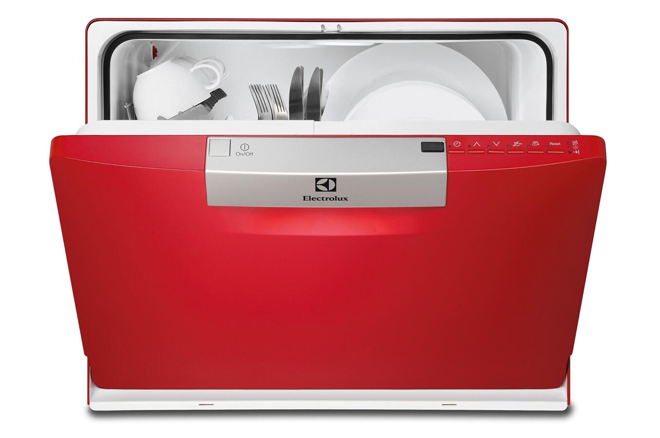 lave vaisselle electrolux esf2300oh rouge 3616606 darty. Black Bedroom Furniture Sets. Home Design Ideas