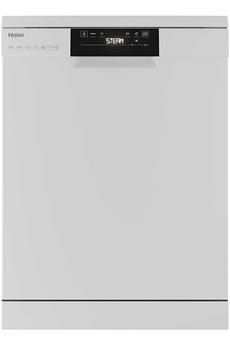 Largeur 60 cm (15 couverts) - 43 dB Consommation d'eau : 10 L par cycle - Classe A+++-10% Traitement ABT (Anti-bactérien) Programme Vapeur - Détection de la charge
