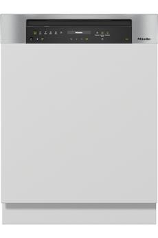 Lave vaisselle miele g 7312 sci powerdisk autodos inox noir