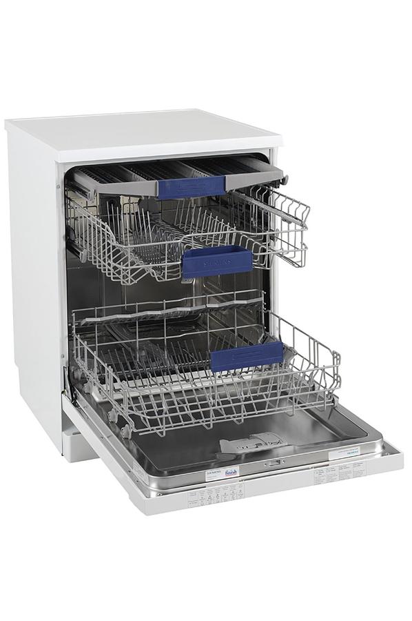 Lave vaisselle siemens sn26n280ff blanc 3738450 darty - Lave vaisselle tiroir couverts ...
