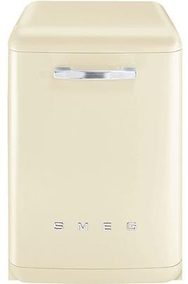 Largeur 60 cm (13 couverts) - 42 dB (Hyper silencieux) Consommation d'eau 8.5 L/cycle - Classe A+++ Départ différé de 1 à 9 heures Design rétro - Option Quick Time