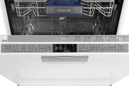 lave vaisselle silencieux 38 db siemens appareils m nagers pour la vie. Black Bedroom Furniture Sets. Home Design Ideas
