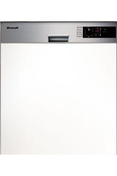 Lave vaisselle encastrable VH13TFX INOX Brandt