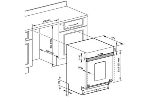 Lave vaisselle encastrable de dietrich dvh938je1 dvh938je1 full 2877929 - Comment monter une facade de lave vaisselle ...