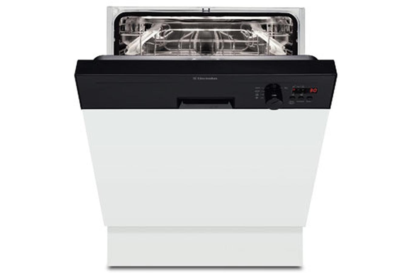 Lave vaisselle encastrable electrolux esi 64060 k noir - Lave vaisselle noir brillant ...