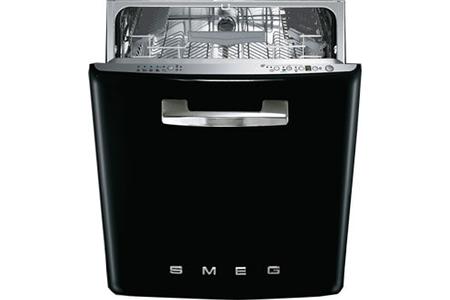 lave vaisselle encastrable smeg st2fabne noir st2fabne darty. Black Bedroom Furniture Sets. Home Design Ideas