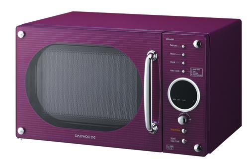 micro ondes daewoo kor 6n9rp violet 3594165. Black Bedroom Furniture Sets. Home Design Ideas