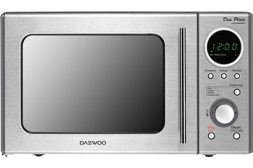 Micro ondes Daewoo KOR-8BMRDUO INOX