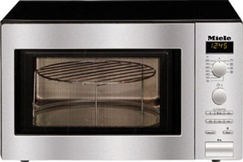 Micro ondes et gril M 8201-1 INOX Miele