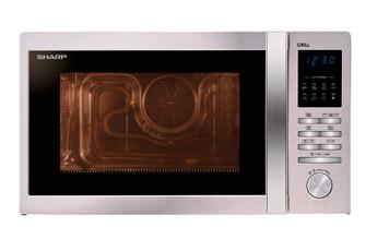 Micro ondes et gril R722STWE INOX Sharp