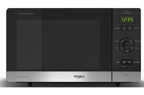 Micro ondes et gril CMCP34R6 BL CHEF PLUS Whirlpool