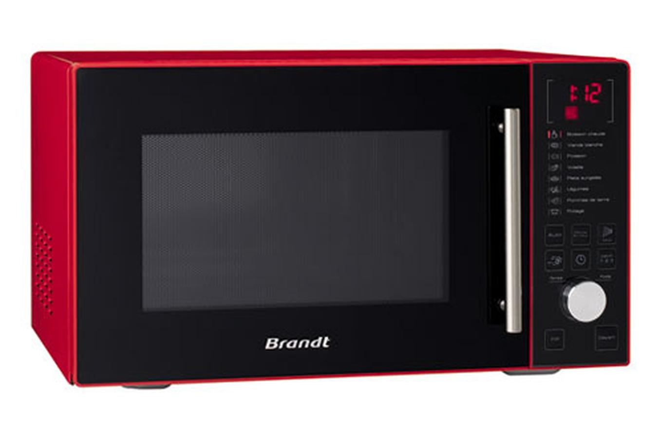 Micro ondes brandt se2612r rouge 3212874 darty - Micro onde brandt spoutnik ...