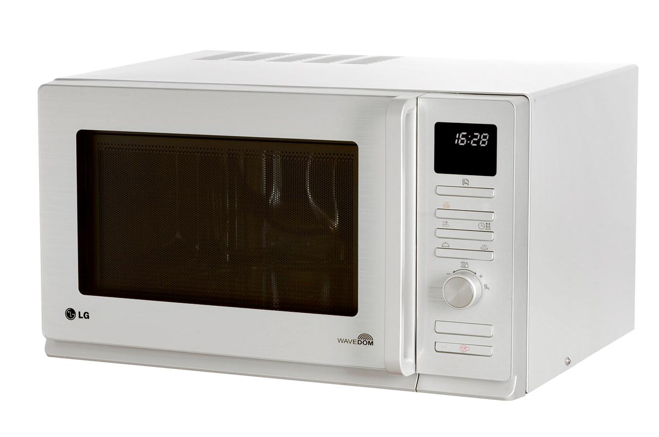 micro ondes combin lg mc 8280 silver 3211215 darty. Black Bedroom Furniture Sets. Home Design Ideas