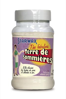 Produits d'entretien cuisine vitre multi-usage Starwax TERRE DE SOMMIERES 200GR Fabulous