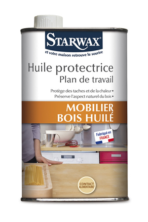 produits d entretien mobilier et surfaces d licates starwax huile protectrice plan de travail. Black Bedroom Furniture Sets. Home Design Ideas