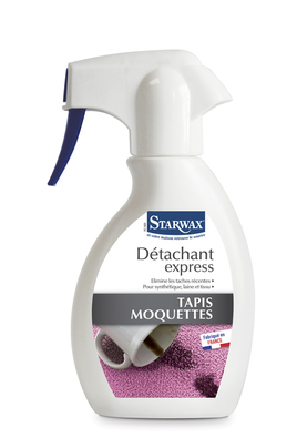 Starwax DETACHANT EXPRESS TAPIS ET MOQUETTES 250ML