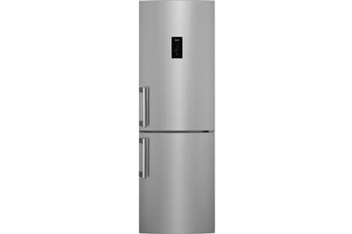 Volume 298 L - Dimensions : HxLxP : 184x59,5x64.7 cm Réfrigérateur à froid brassé 192 L - A++ Congélateur à froid ventilé (sans givre) 91 L Eclairage LED - Technologie MultiFlow