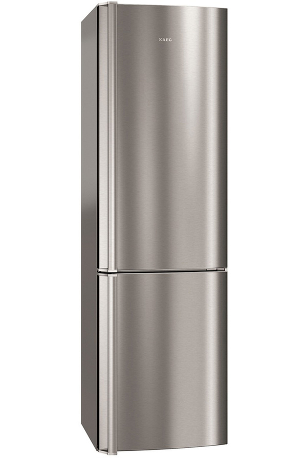 refrigerateur congelateur en bas aeg s83420cmx2 inox 4004124 darty. Black Bedroom Furniture Sets. Home Design Ideas