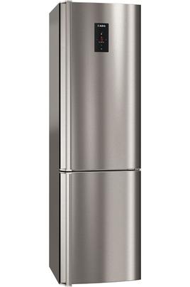 Volume 312 L - Dimensions HxLxP : 184x59.5x63 cm -A++ Réfrigérateur à froid brassé 220 L Congélateur à froid ventilé 92 L Contrôle électronique en façade